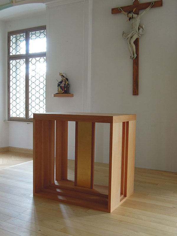 Hauskapelle Polling Altar